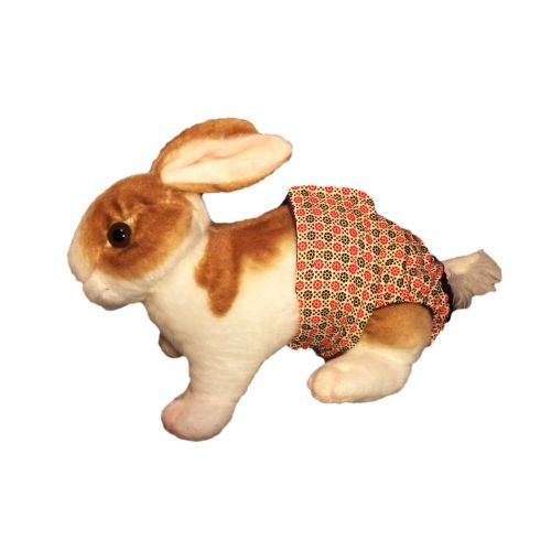 red-and-brown-flower-diaper-bunny