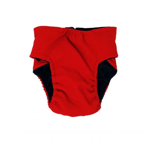 cherry red diaper - back